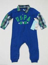 Childrens Apparel P001800TUV9-3//6M U.S US Polo Assn Assn Boys Hooded