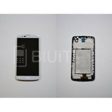 Touch Screen Display Lcd Per Lg K420 K10 Digitizer Schermo White Bianco Ricambio