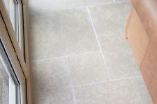 Tumbled Dijon Limestone Tiles Flagstone Aged Slabs