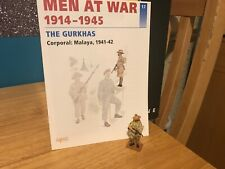 Del Prado Men at War 1914-1945, #17, Gurkha corporal Malaya 1941-42, fig/book