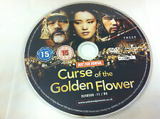 Curse Of The Golden Flower DVD R2 Film - DISC ONLY in Plastic Sleeve