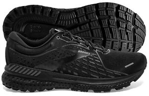 Brooks Adrenaline GTS 21 Men's Black/Black/Ebony multiple sizes, New In Box