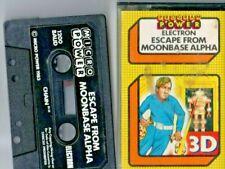 COMPUTER GAMES FOR BBC Micro. Acorn Electron  Escape  from Moon Base Alpha 3D