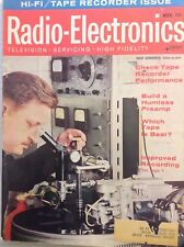 Radio-Electronics Magazine Tape Recorder Perf March 1964 102417nonrh