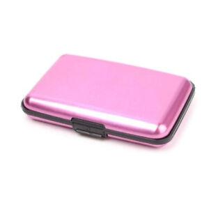 Business ID Credit Card Wallet Holder Aluminum Metal Pocket Case SaleWaterproof
