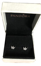 Beautiful Enchanted Crown Earrings With Pandora Box And Gift Bag