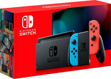 NUOVO NINTENDO SWITCH V2 1.1 CONSOLE BLUE/RED PORTATILE TOUCHSCREEN ITALIA 2019