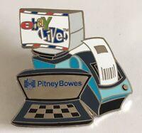 eBay Live Pin 2005 Pitney Bowes Printer Advertising Lapel Pin Badge