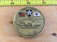 302d Forward Support Battalion 2D Infantry Division Iron Horse Challenge Coin