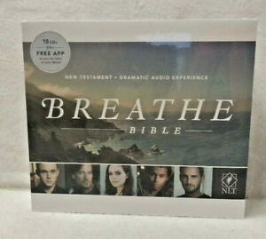 NEW Living Translation Breathe Bible Dramatic Audio 18 CD Testament Dramatized