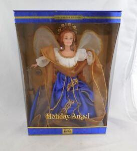2000 Mattel Barbie Holiday Angel (BLUE DRESS) Collector Edition NRFB
