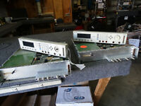 Lot of 2 HP Agilent 8110A Pulse Pattern Generator  for PARTS