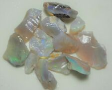 129 Carats of Natural Coober Pedy Rough Opal. Lapidary Hobby Opal Cutting,