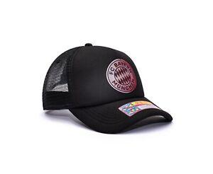Bayern Munich Trucker Snapback Hat Shield Officially Licensed Fan Ink