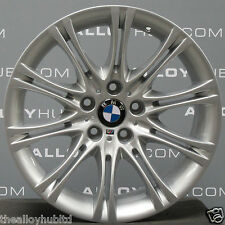 "GENUINE BMW 5 SERIES E60/E61 MV2 18""INCH 135M SPORT SILVER ALLOY WHEELS X4"