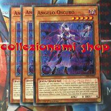 3x CIBR-IT005 ANGELO OSCURO - Dark Angel - COMUNE - CARTE IN ITALIANO