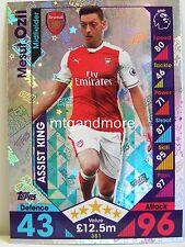 Match Attax 2016/17 Premier League - #381 Mesut Ozil - Assist King