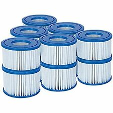 Buy 8 or more swim spa hot tubs ebay bestway filter cartridge lay z spa swimming pool hot tub 12 pack cartridges new freerunsca Image collections