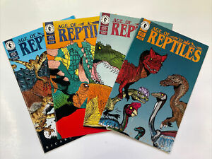 Age Of Reptiles 1 - 4   Complete Set