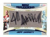 2012 TRISTAR TNA IMPACT AUTO RELIC EVENT RING MAT CARD JEFF JARRETT WWE 16/25
