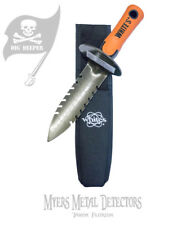 Whites DigMaster Double Serrated Trowell 601-0073+Treasure Apron & 2018 Calendar