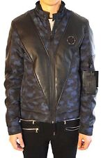 "Philipp PLEIN Nylon Jacket ""vendetta"" Size: L (cade come S/M) - FITS smaller"