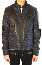 "PHILIPP PLEIN Nylon Jacket "" Vendetta"" Size: L (fits smaller like S or M)"