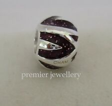 Genuine Authentic Chamilia Sterling Silver Peaks of Burgundy CZ NA-23C