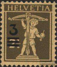 Suisse 239 neuf avec gomme originale 1930 surcharge