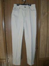 JONES Sport Womens 10 Beige Straight Leg Cotton Denim Jeans BARELY WORN