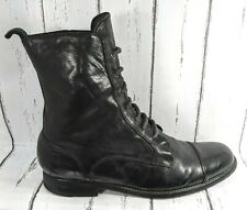 Sartore Paris Military Lace Up Boots Women US / 40 Made In Italy