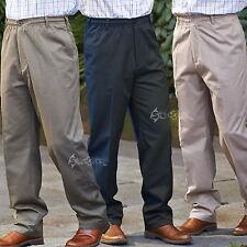 Mens Champion Grafton Elasticated Waistband Polycotton Chino Trousers