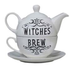 Alchemy Gothic Witches Brew Hex Tea Set