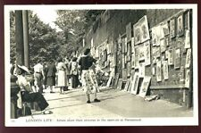 London Unposted Printed Collectable Social History Postcards