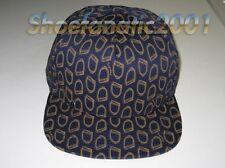 Supreme Irons Snapback hat Comme des Garcons 5 Panel SB Blazer Box Logo Navy