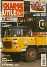 CHARGE UTILE 17 L'AVENTURE CALBERSON CARS HANGARD CAMIONS DEWALD CAMION CITERNE