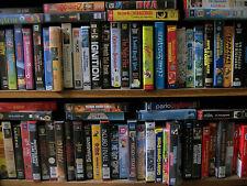 Lotto da 10 Kg di VHS Videocassette Film Azione Commedia Drammatico Horror