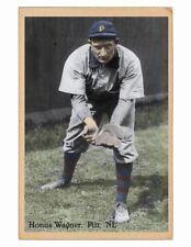 1911 Honus Wagner vintage style card Pittsburgh Pirates