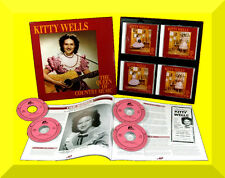 Kitty Wells ,  The Queen of Country Music ( Box 4_CD + Booklet )
