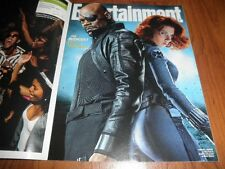 Entertainment Weekly magazine-THE AVENGERS With bonuses! Three covers-Plus CARDS