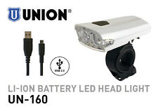 MARWI UNION LED BIKE HEADLAMP UN-160 LI-ION BATTERY HEADLIGHT