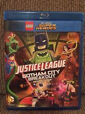 LEGO DC Super Heroes Justice League Gotham City Breakout (Blu-ray, DVD,Digital )