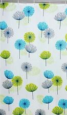 NEW POLYESTER FUNKY DANDELION WATERPROOF SHOWER BATH CURTAIN WITH CURTAIN HOOKS