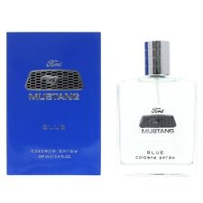 New Sealed Ford Mustang Blue Cologne 100ml EDC Aftershave Perfume Men Spray