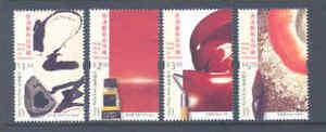 HONG KONG 2002 MODERN ART SET SUPERB MNH