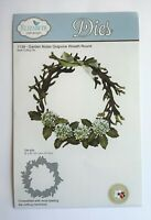 Elizabeth Craft Designs Garden Notes Grapvine Wreath Round Steel Cutting Die