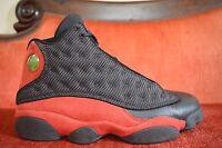 Nike Air Jordan 13 Retro Black Red White Bred 2013 414571-010 Size 10 OG ALL