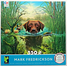 jigsaw puzzle 550 pc Mark Fredrickson Waters Edge labrador retriever Ceaco
