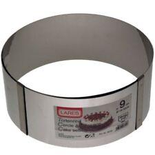 Tortenring Kuchenring Backring extra hoch stufenlos verstellbar Edelstahl Ring