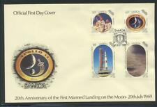 Samoa 1989 SG 830-3 Moonlanding Anniversary Space First Day Cover